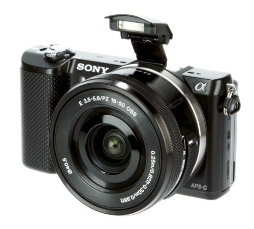 Sony-Alpha-5000-front