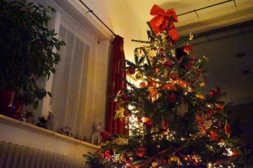 kersthuiskamerkerstboom