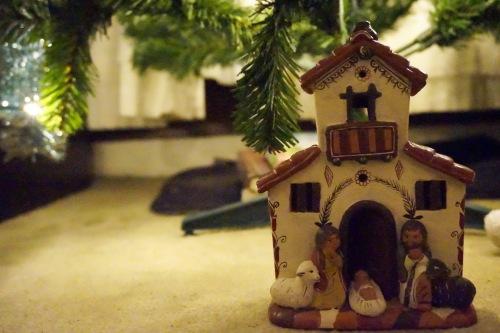 kerstslaapkamerstal