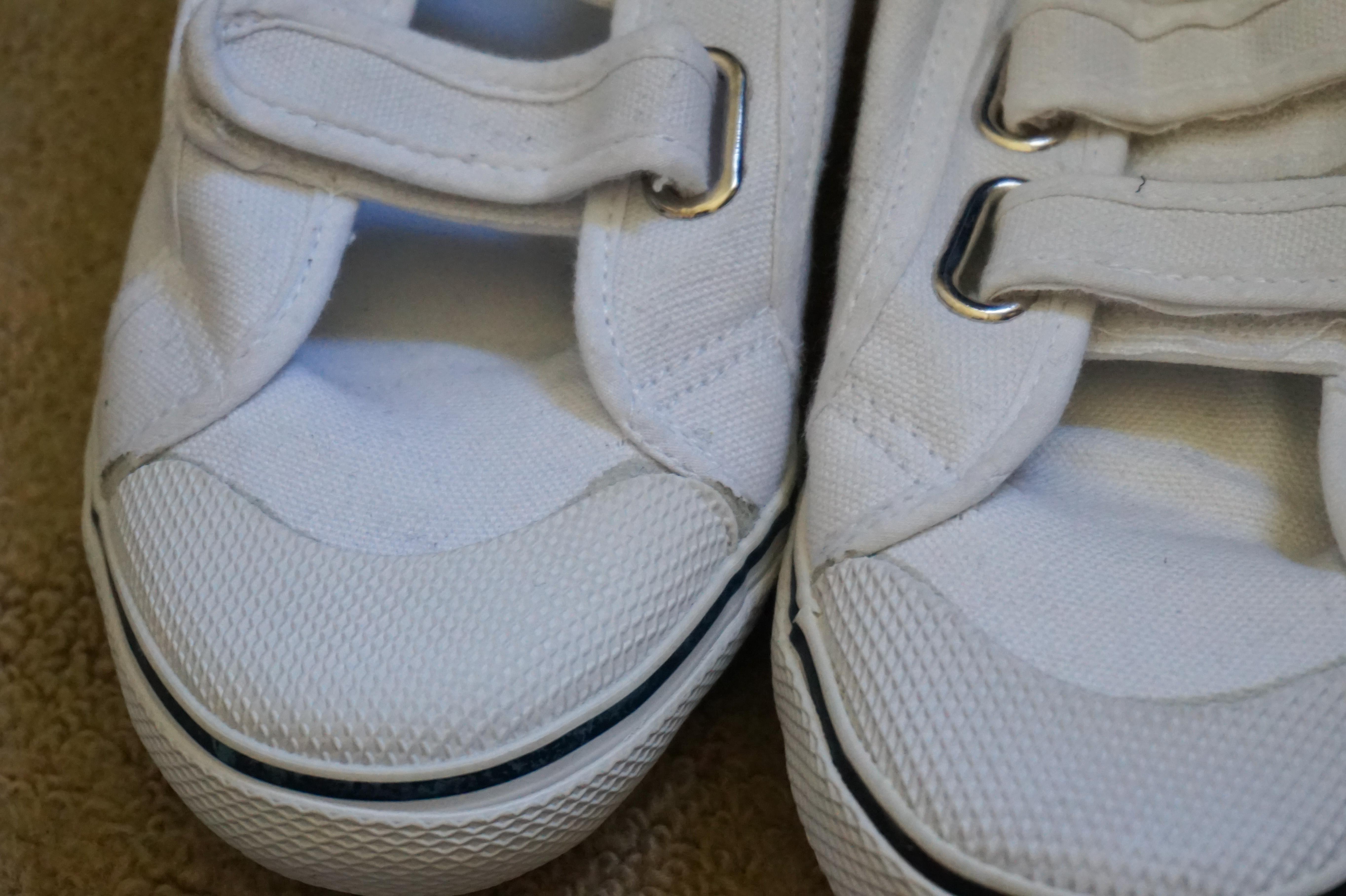 vans schoenen kapot